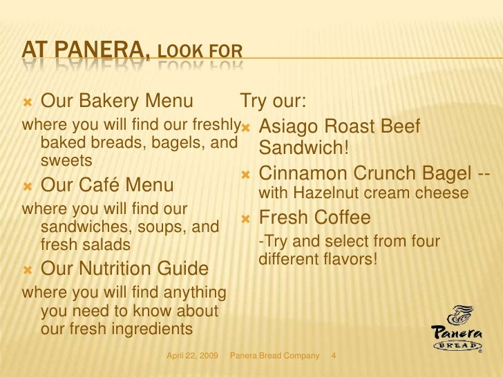 panera bread company is vision and mission Company vision and mission statement swot analysis the five forces model   open more cafes' and have nearly 2,000 panera bread cafe s open by 2010.