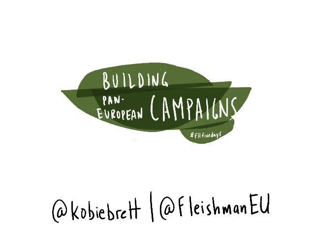 Building Pan-European Communications Campaigns