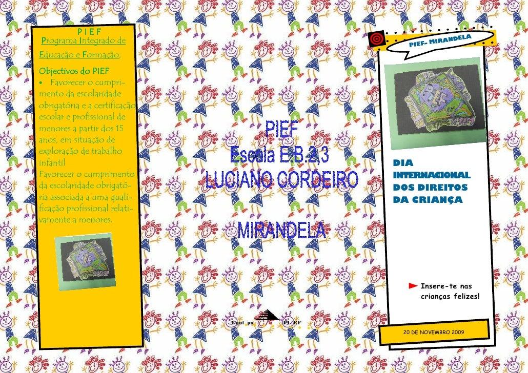 PIEF                                                                ELA Programa Integrado de                             ...