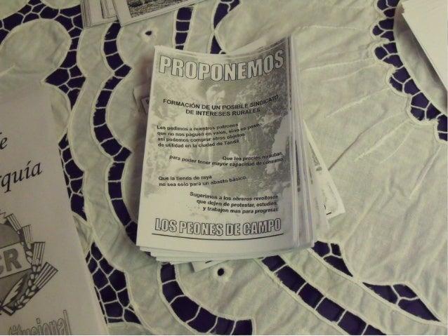Panfletos del Centenario