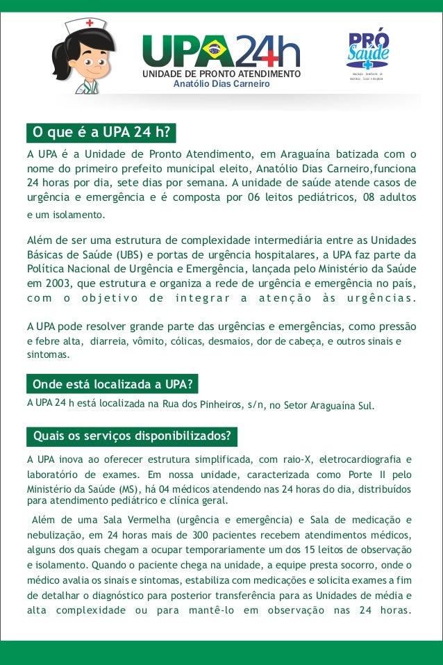 UNIDADE DE PRONTO ATENDIMENTO                   Associação Beneficente de                                                 ...