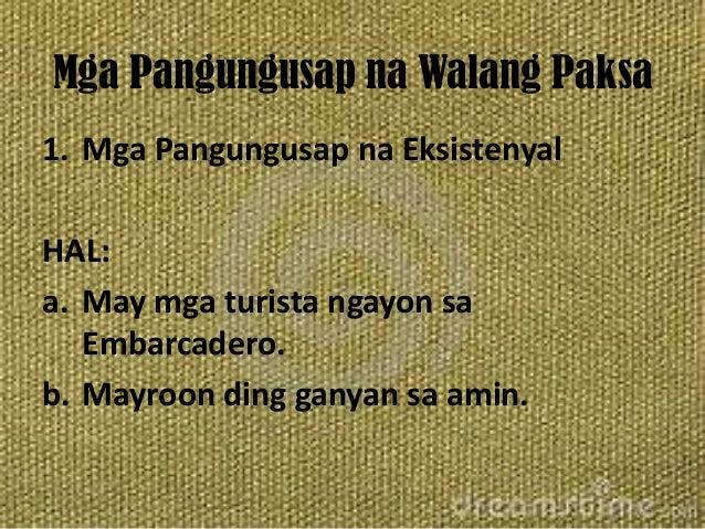 pangungusap na walang paksa Start studying 5 pangungusap na walang paksa learn vocabulary, terms, and more with flashcards, games, and other study tools.