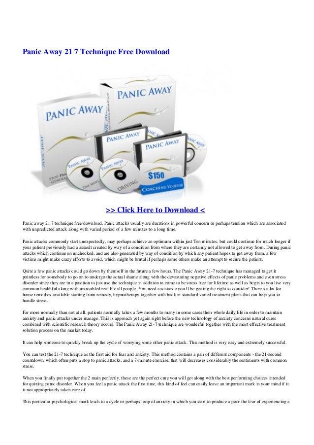 Panic away-21-7-technique-free-download.