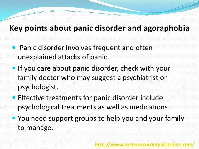 Panic disorder and agoraphobia Slide 2