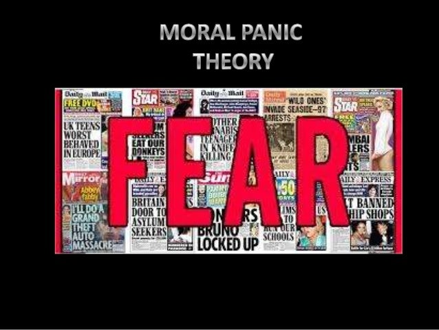' The media are responsible for a range of social problems'. Moral problems have been described as a condition, episode, p...