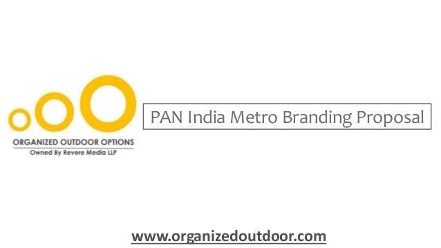 PAN India Metro Train Branding - Metro Train Advertising
