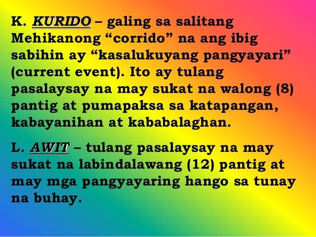 tulang may walong sukat Contextual translation of tula na may 8 pantig at 8 taludtod into english human  translations with examples: tagalog, 8 syllable word, poem with 8 poems.