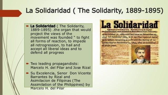 la solidaridad (english: the solidarity) essay Articles in la solidaridad essays and research papers articles in la solidaridad la solidaridad la solidaridad (english: the solidarity) was an organization created in spain on december.