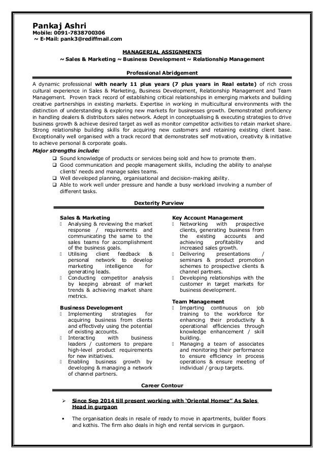 Pankaj ashri resume 2014 latest