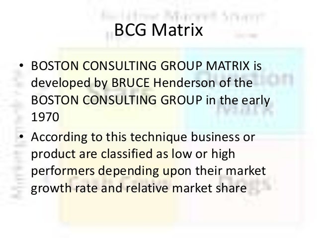 Boston Consulting Group, Inc. (BCG) is an American multinational management consulting firm with more than 90 offices in 50 countries. Founded in by Bruce Henderson, it advises clients in management decisions across private, public.
