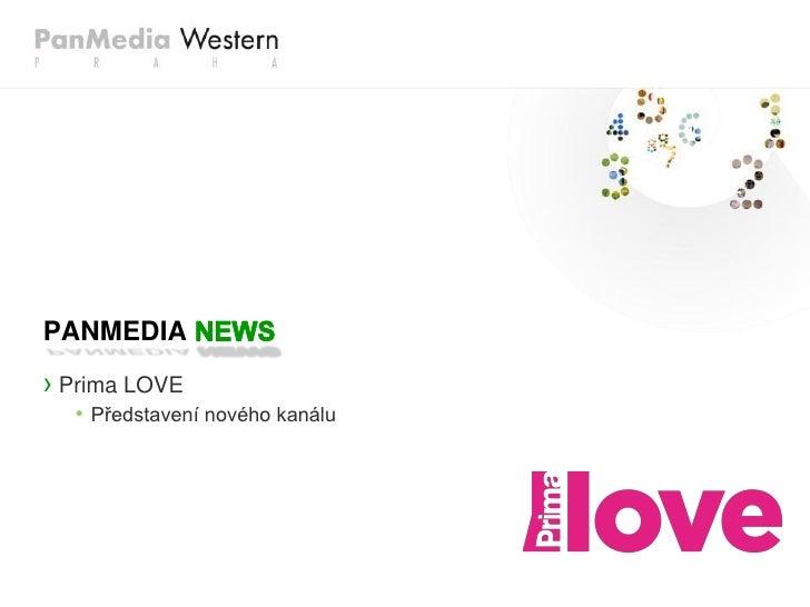 PANMEDIA› Prima LOVE  • Představení nového kanálu