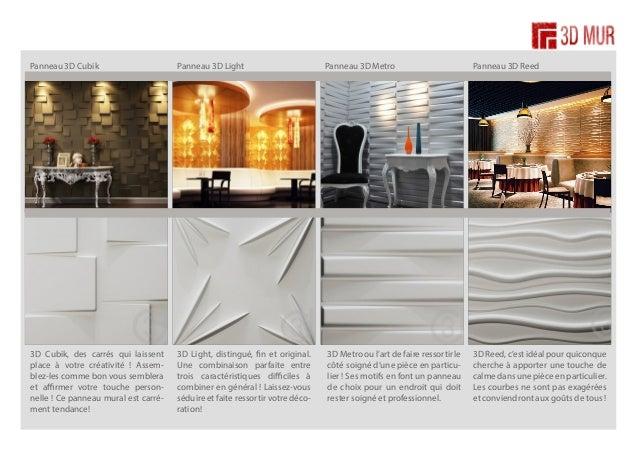panneau mural design en 3d relief. Black Bedroom Furniture Sets. Home Design Ideas