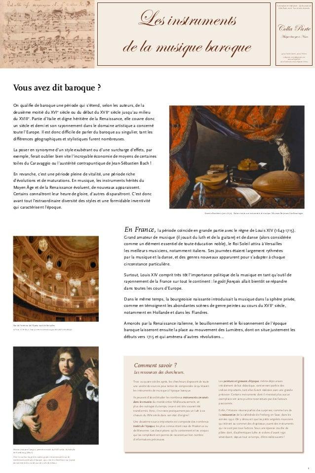 Conception et réalisation: © Association Colla Parte, 2016. Tous droits réservés. Colla Parte Musique baroque à Nîmes 45 ...