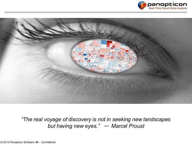 """The real voyage of discovery is not in seeking new landscapes                           but having new eyes."" — Marcel Pr..."