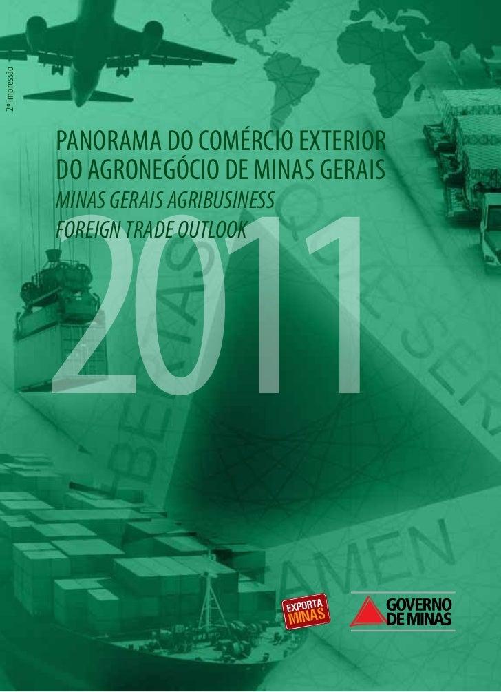 2º impressão               PANORAMA DO COMÉRCIO EXTERIOR               2011               DO AGRONEGÓCIO DE MINAS GERAIS  ...
