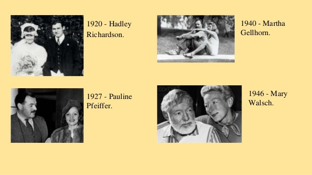 the life of ernest hemingway and its impact on his works Ernest miller hemingway (july 21, 1899 in his novels, ernest hemingway used violence hemingway's prize-winning works reflected preoccupation with life and.