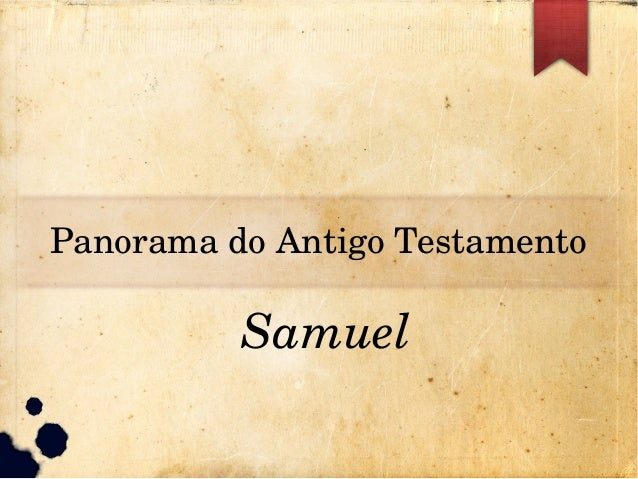 PanoramadoAntigoTestamento Samuel