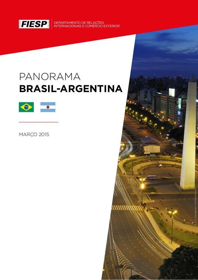 PANORAMA BRASIL-ARGENTINA MARÇO 2015 Foto:Tphotography|Shutterstock.com