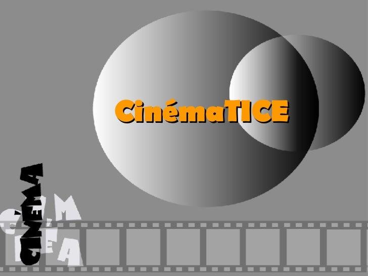 CinémaTICE