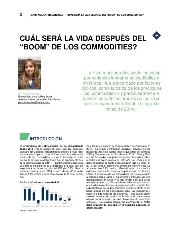 Panorama america latina   coface - ccifec Slide 2