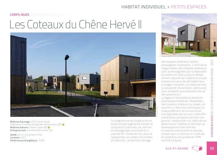 Habitat individuel > Petits espacesCorps-Nuds           /////////////////////////////////////Les Coteaux du Chêne Hervé II...