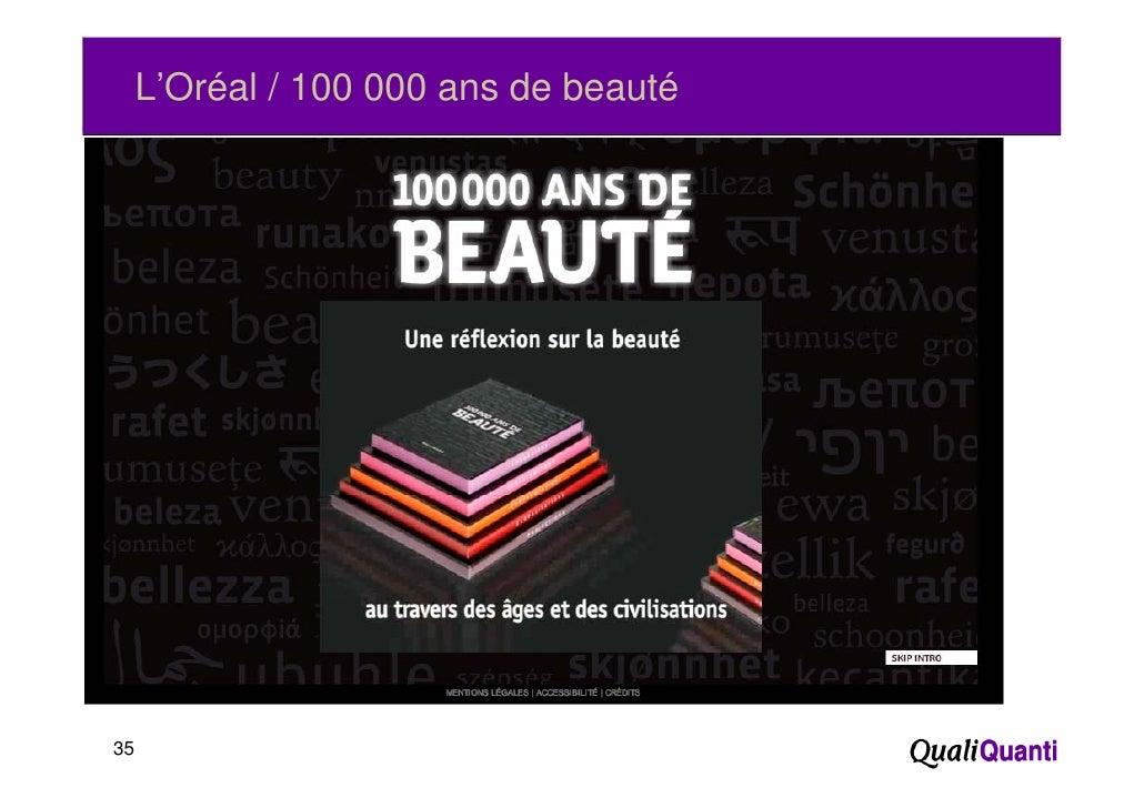 L'Oréal / 100 000 ans de beauté35