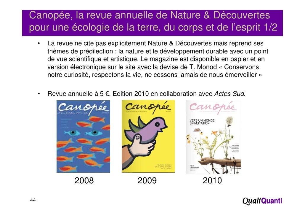 Canopée, la revue annuelle de Nature & Découvertespour une écologie de la terre, du corps et de l'esprit 1/2     •   La re...