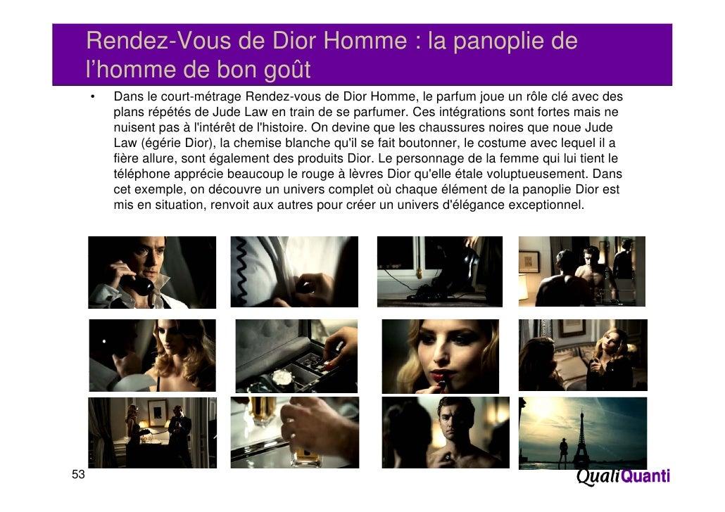 Rendez-Vous de Dior Homme : la panoplie de     l'homme de bon goût                    g     •   Dans le court-métrage Rend...