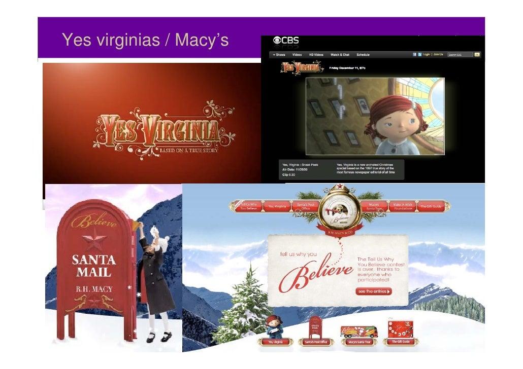 Yes virginias / Macy's59