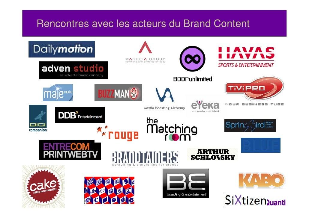 Rencontres avec les acteurs du Brand Content9