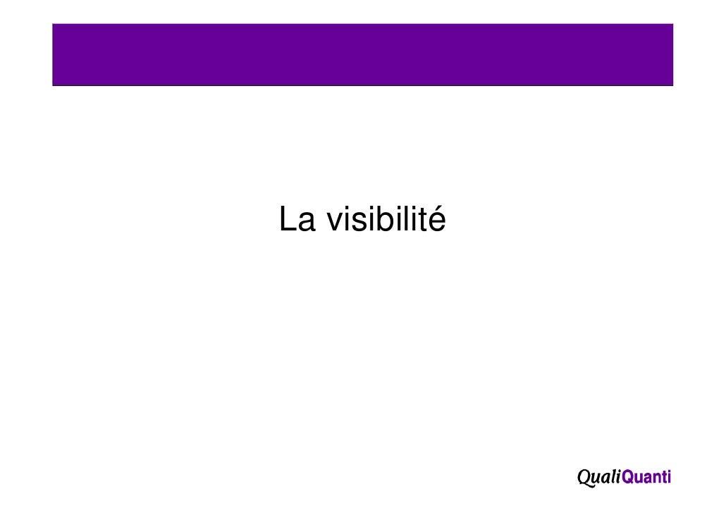 La visibilité