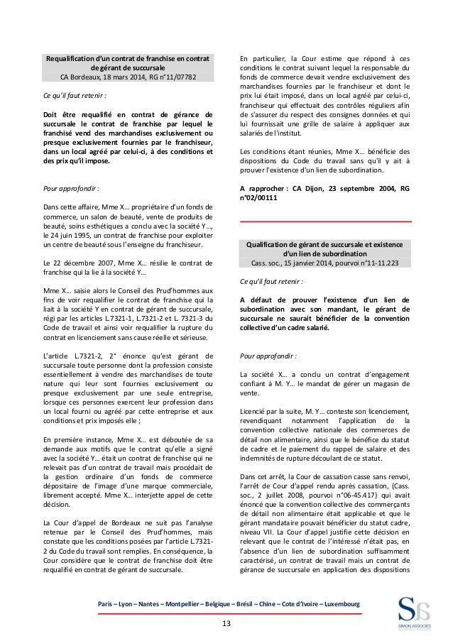 fd799e9dd24 Panorama de la jurisprudence 2014
