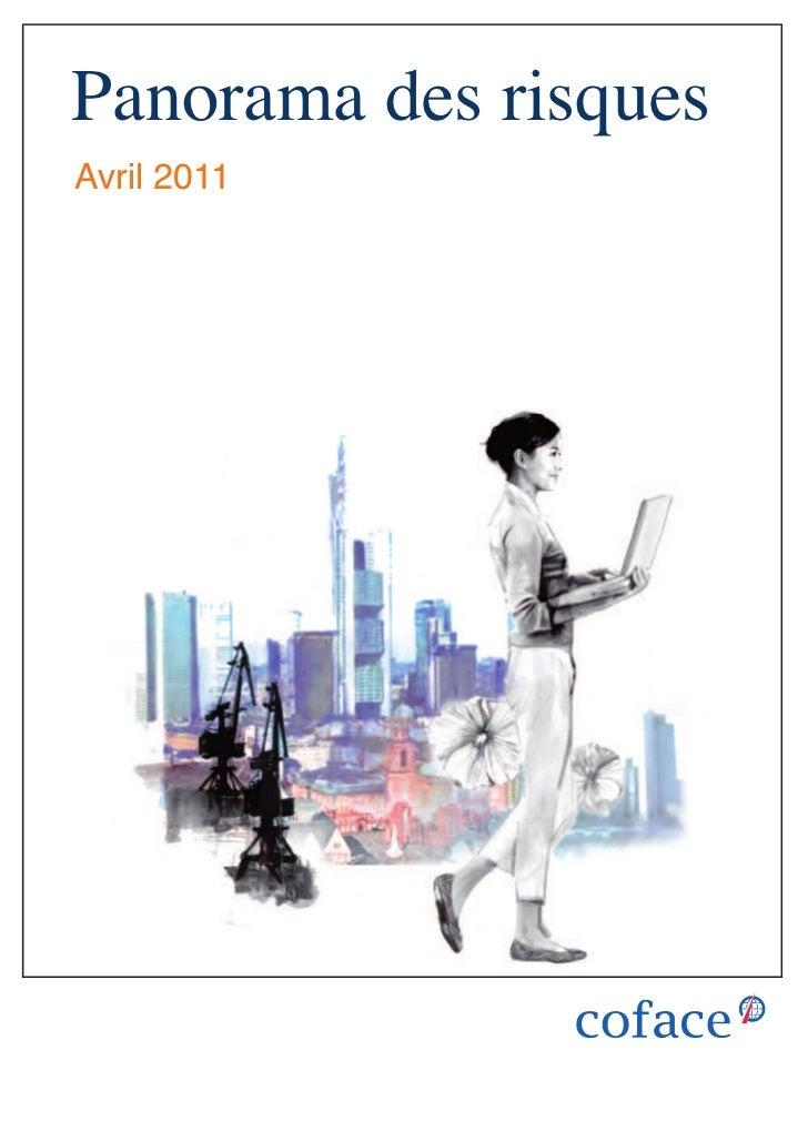 Panorama des risquesAvril 2011