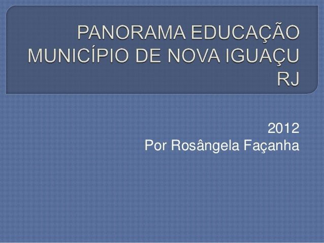 2012Por Rosângela Façanha