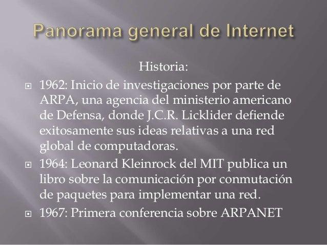 Panorama general de internet Slide 3
