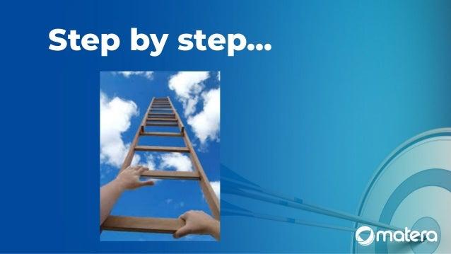 Step by step...
