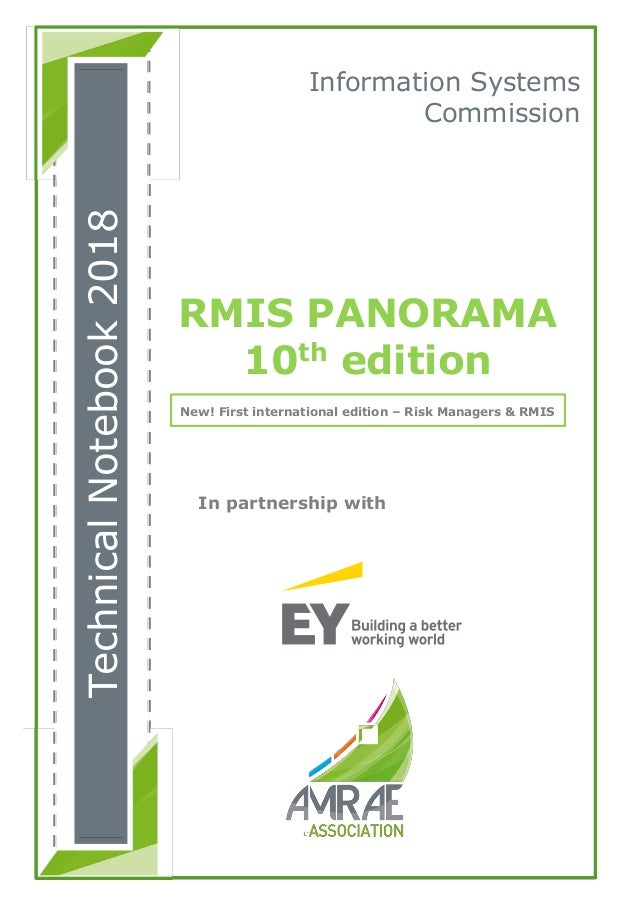In partnership with Information Systems Commission RMIS PANORAMA 10th edition New! First international edition – Risk Mana...