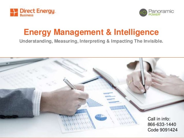 Energy Management & Intelligence from Direct Energy Business