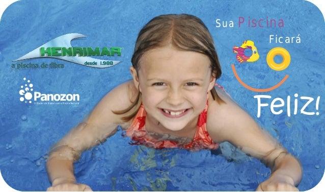 Sua Piscina                                                 FicaráO Prazer de Nadar numa Piscina Natural