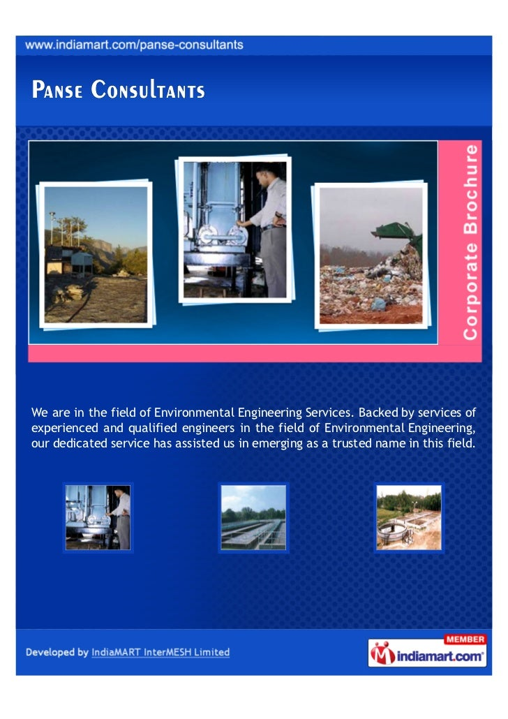 We are in the field of Environmental Engineering Services. Backed by services ofexperienced and qualified engineers in the...
