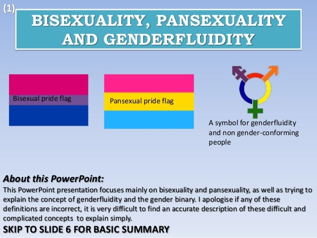 Difference between pan and bi sexuality