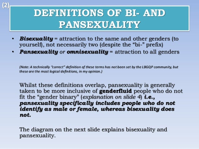 Definition of bisexual