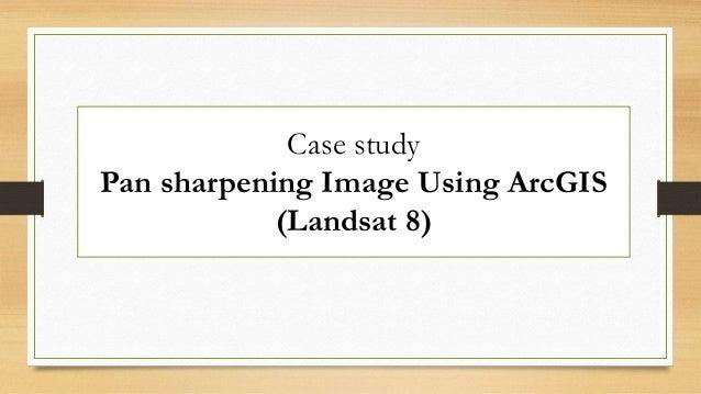 Pan sharpening