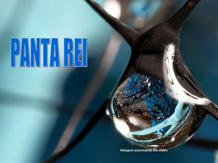 PANTA REI  Rolagem automática dos slides.