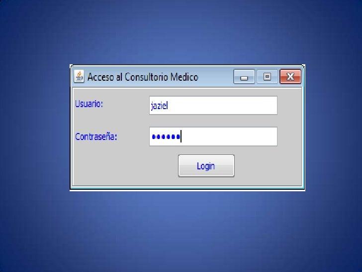 pantalla login