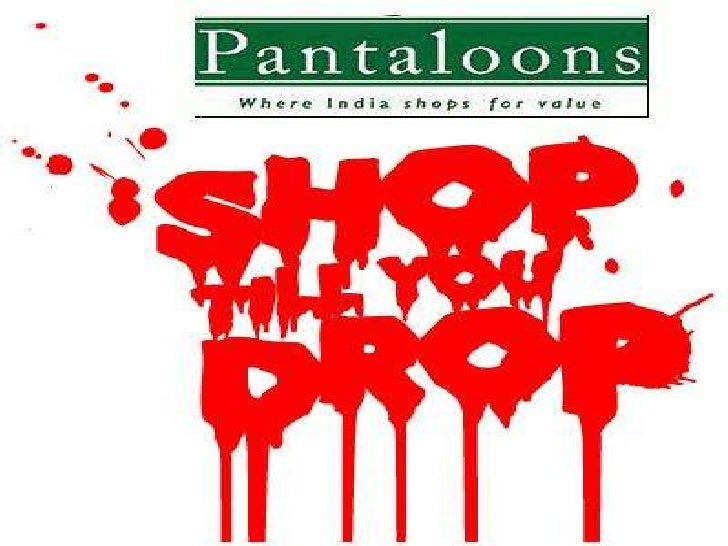 sap pantaloons Detailed analysis of information system used by pantaloon.