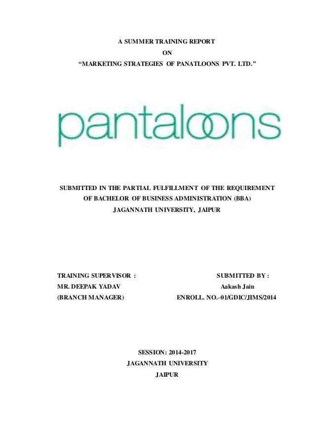 pricing strategy of pantaloon Sales promotion strategies of pantaloons hot coupon code 5% off $250 purchase pricing is strategy used by pantaloon retail chain to attain maximum market.