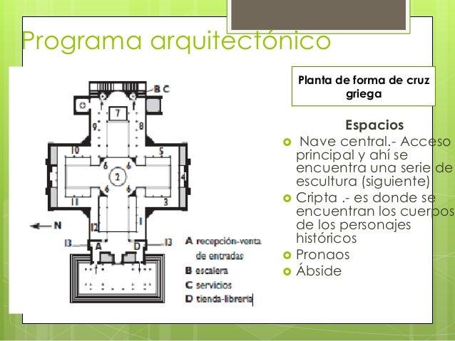 Pante n de paris garcia for Programa arquitectonico de una biblioteca