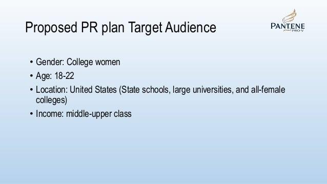 Pantene Public Relations Plan