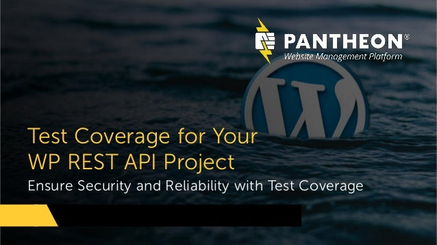 Ensure Security and Reliability with Test Coverage Test Coverage for Your WP REST API Project
